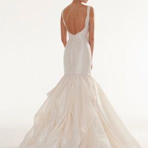 Peter Langner Dresses - Peter Langner Wedding Dress Holding Tight